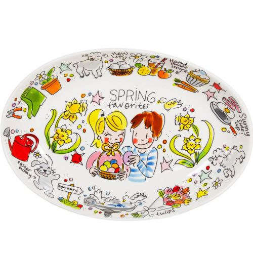 Oval Bowl ø28,5cm Spring Favorites