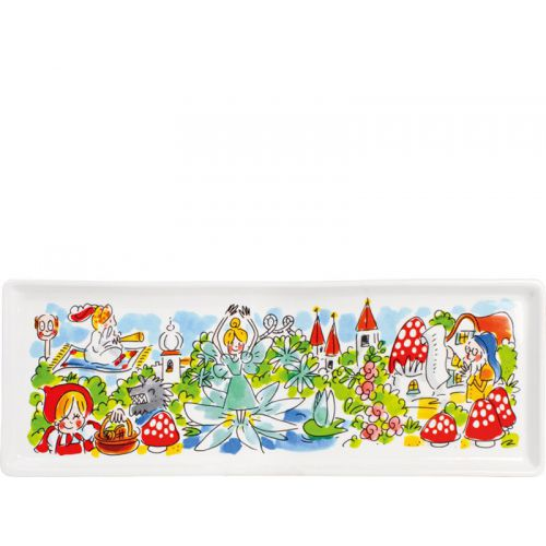Rectangular Cake Platter ø33cm Efteling