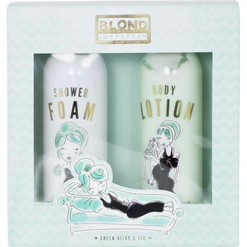 Set Shower Foam & Body Lotion Green