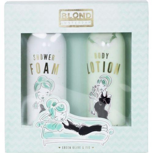 Set Shower Foam & Body Lotion Green
