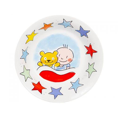 Blauwe baby bakje - It's a boy