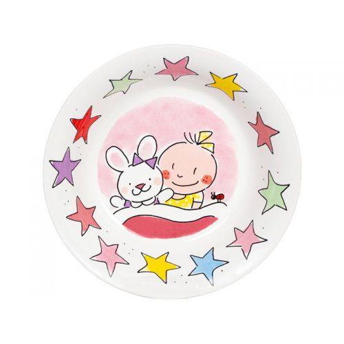 Roze baby bakje, It's a girl