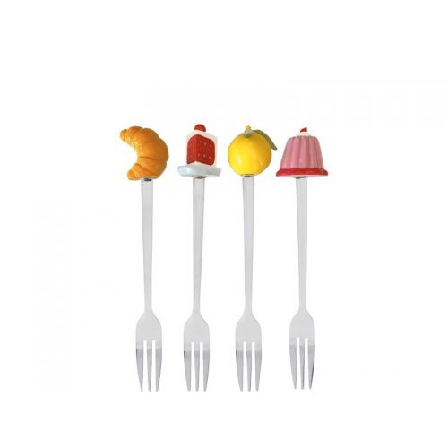 Set of 4 Dessert Forks Bake