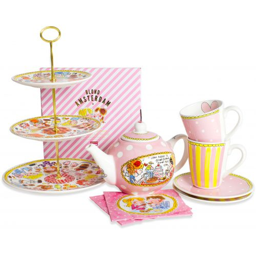 High tea set + shopper for free