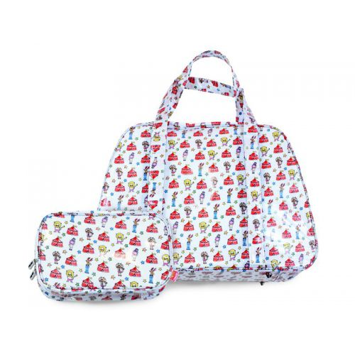 Travel bag Let's go to the circus + free Essentials bag S!